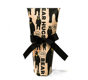 Gift Wrap (bottle) - 100% recycled paper