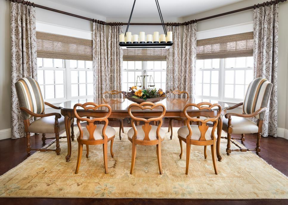 How To Dress A Bay Window By Continental Window Fashions