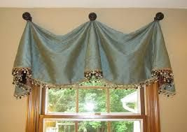 Fabric Valance with Medallions