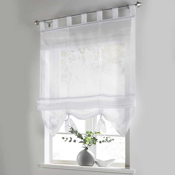 Fabric Window Shade with Metal Hardware