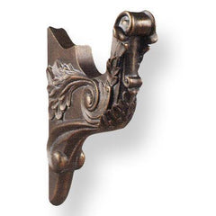 Finial Company Resin Curtain Rod Bracket