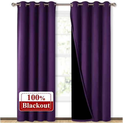 Nicetown Thermal Blackout Curtains Image from Amazon