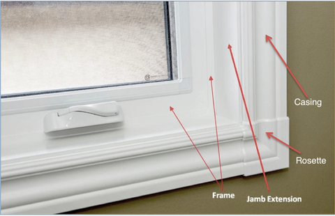 Window Frame and Casing illustration