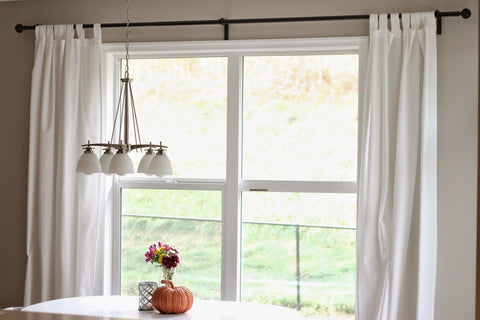 How To Measure For Curtain Rod Brackets Continental Window Fashions