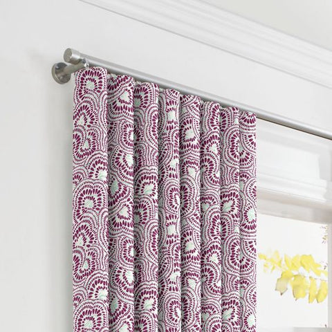 modern traverse curtain rod