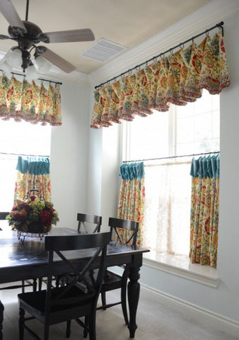 cafe curtains with valance