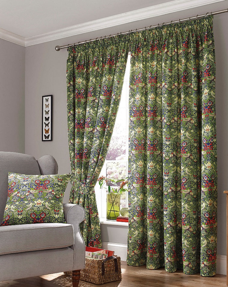william morris how to choose drapery hardware