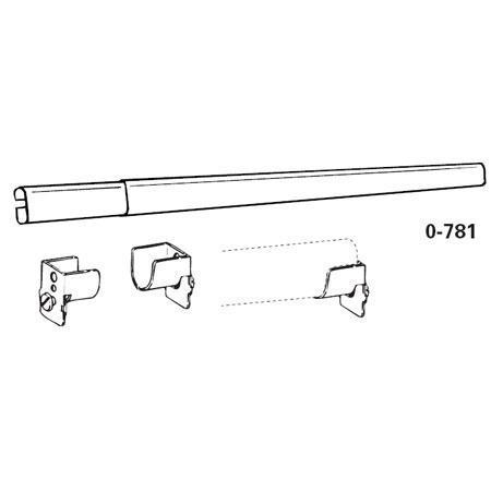 Graber Plain Curtain Rod For Sheers