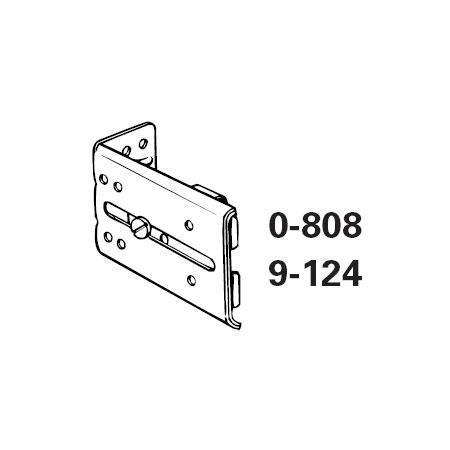 Replacement End Bracket For Traverse Rods Continental