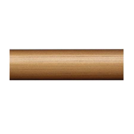 "Select 6 Foot Smooth 1 3/8"" Wood Drapery Pole"