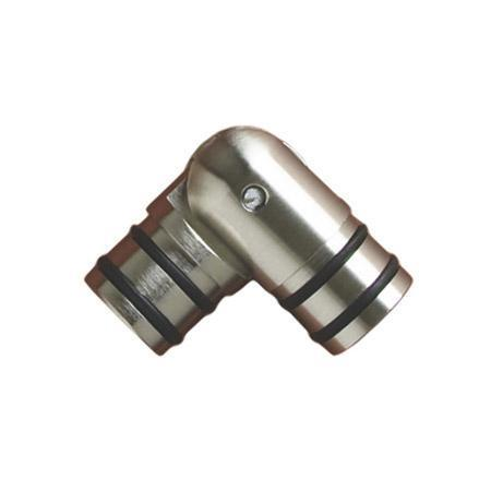 Finial Company Solid Geometry 1 3/8 Inch Elbow Connector