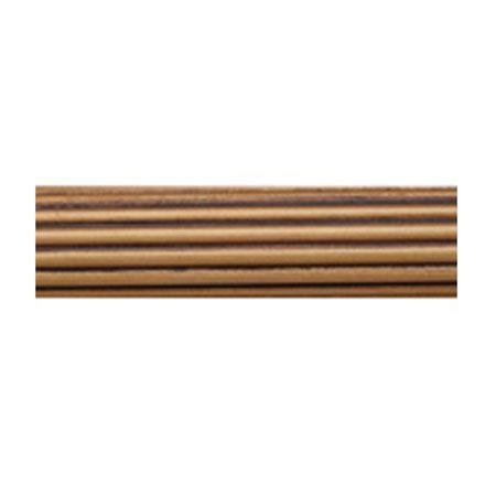 Select 2 1/4 Inch Fluted Wood Poles Unfinished Only