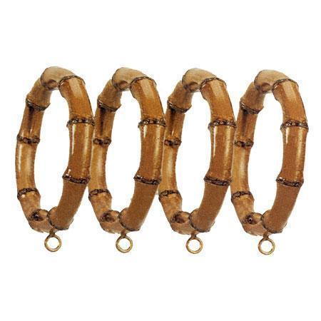 Menagerie Bamboo Curtain Rings