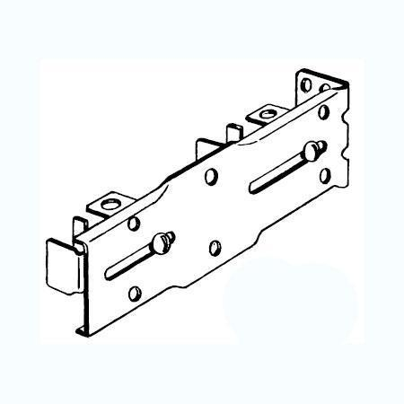 Kirsch Superfine Double Rod End Brackets
