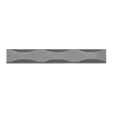 ONA Drapery 1 2 Inch Wrought Iron Curtain Rod Square Hammered 7 Feet