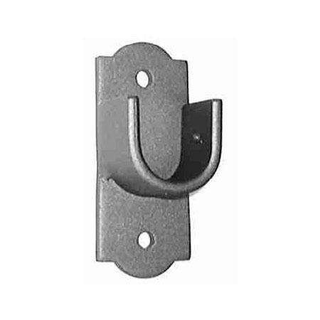 ONA Drapery Deco Socket Wrought Iron Curtain Rod Bracket
