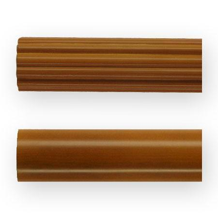 2 Inch Wood Poles Standard Colors (Fluted) (6 foot pole)