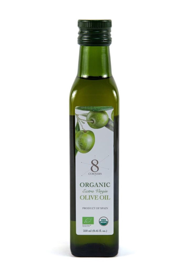 8Corners Organic Olive Oil  250ml