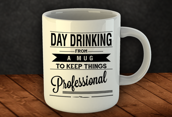 Day Drinking Mug - Wine Time Club