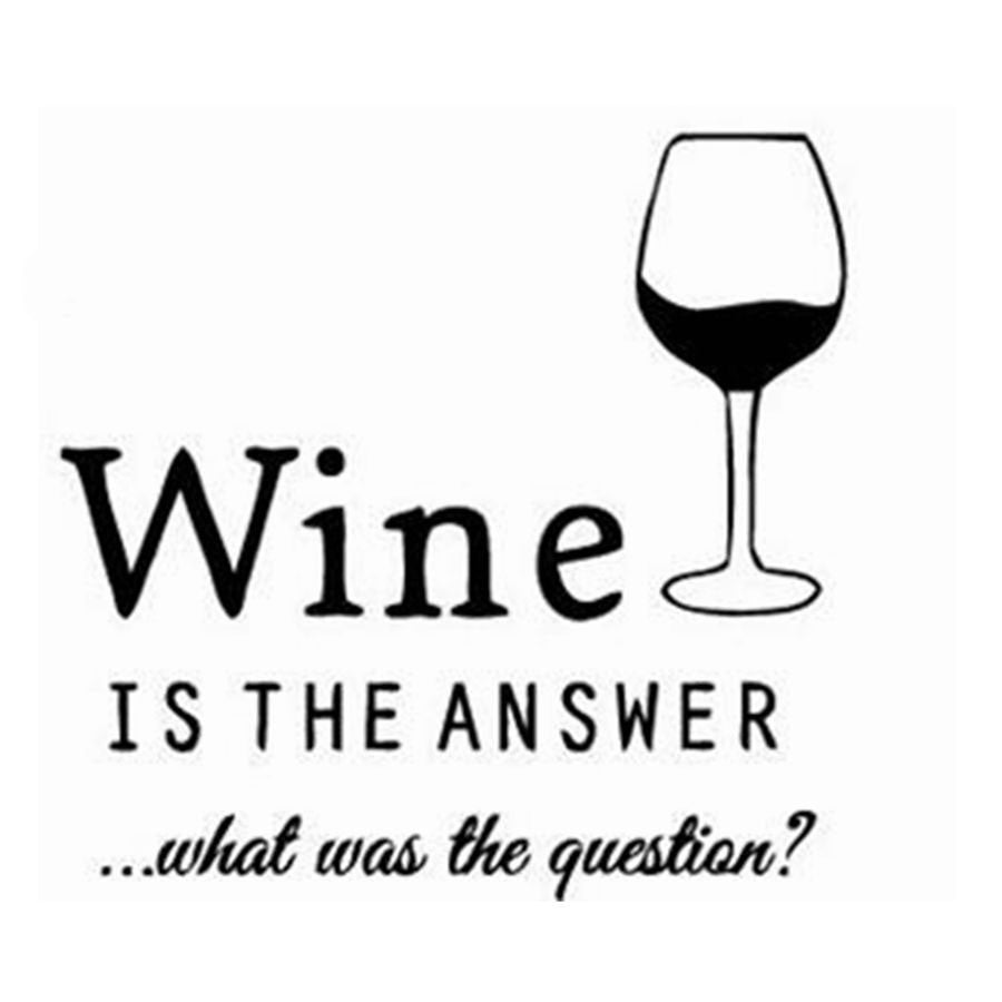 Wine Wall Decal - Wine Time Club