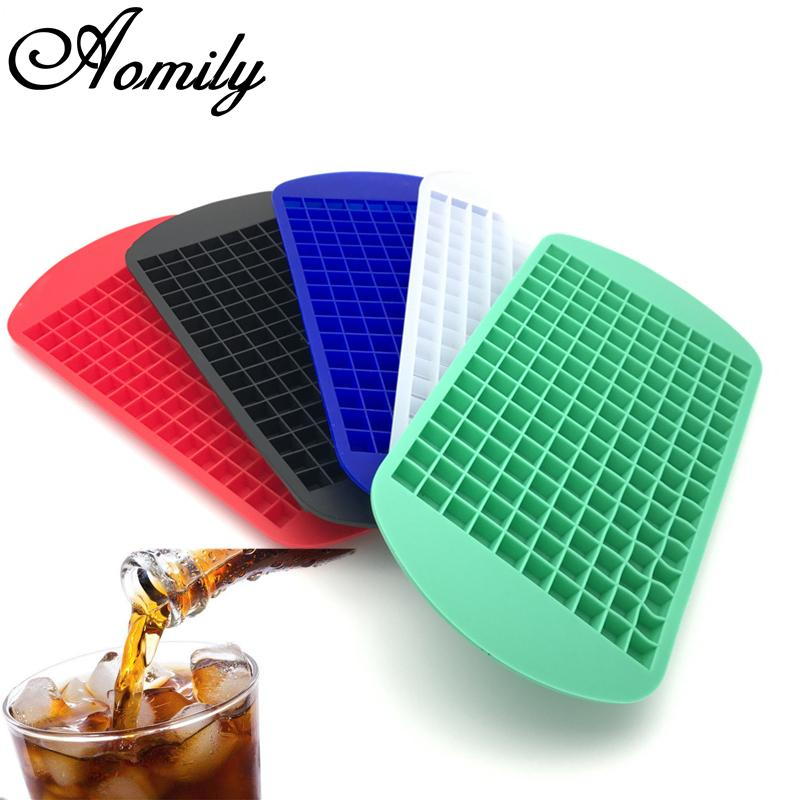 160 Small Silicone Ice Cube Tray - Wine Time Club