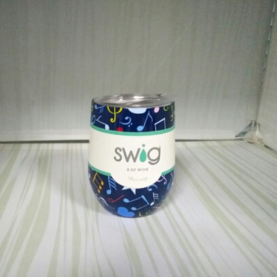 Limited Edition Swig 9oz Wine Cup - Insulated