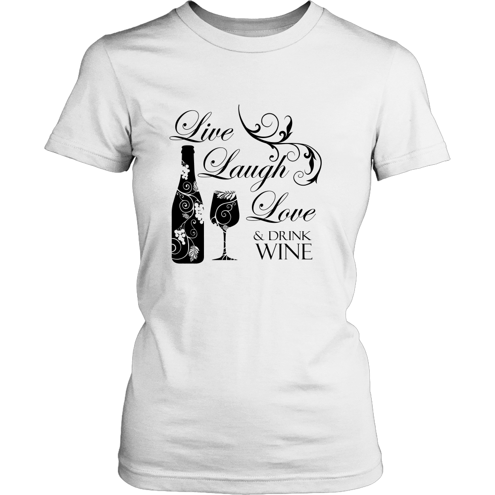 Live Laugh Love Wine - Wine Time Club