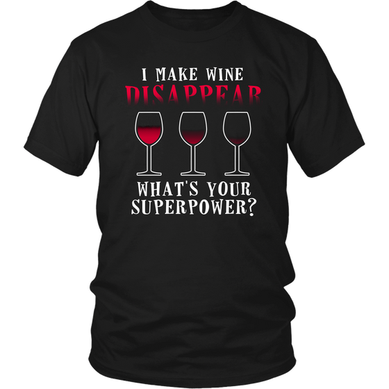 I Make Wine Disappear - Wine Time Club