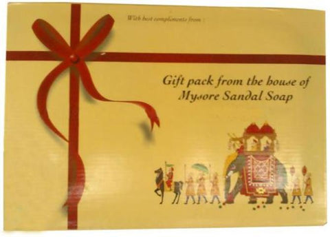 6PK Mysore Sandal Soap Gift Pack 31.74 OZ (900 Grams)