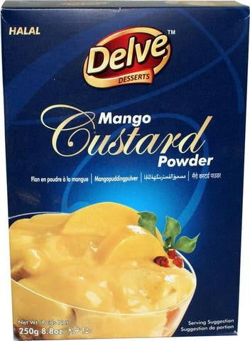 Shan Delve Desserts Mango Custard Powder 8.8 OZ (250 Grams)