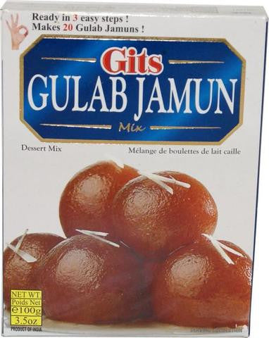 Gits Gulab Jamun Mix 100 Grams (3.5 OZ)