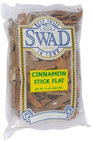 Swad Cinnamon Stick (Flat) 14 OZ (400 Grams)