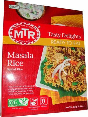 MTR Masala Rice Spiced Rice 300 Grams (10.58 OZ)