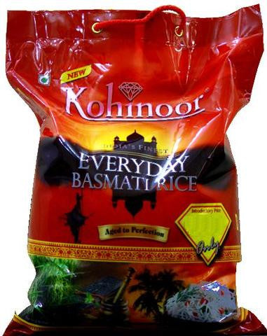 Kohinoor Everyday Basmati Rice 10 LBs