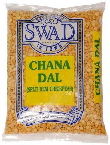 Swad Chana Dal Split Desi Chickpeas 4 LB (1816 Grams)