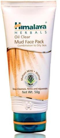 Himalaya Herbals Oil Clear Mud Face Pack 3.5 OZ (100 Grams)