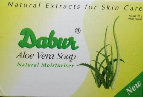 Dabur Aloe Vera Herbal Soap Natural Moisturiser 125 Grams