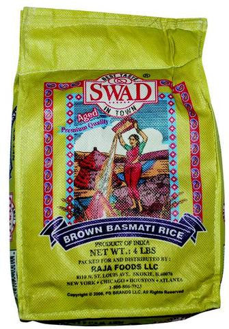 Swad Brown Basmati Rice 4 LB