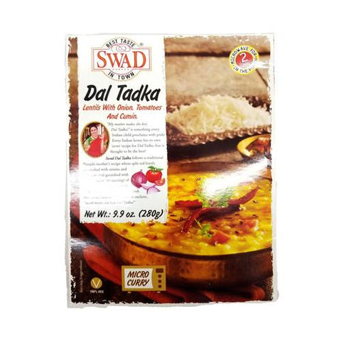 Swad Dal Tadka Lentils with Onions Tomatoes & Cumin 9.9 OZ (280 Grams)