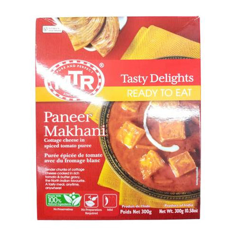 MTR Paneer Makhani (Spiced Tomato Puree with Cottage Cheese) 300 Gm