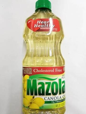Mazola Canola Oil 40 OZ (1134 Grams)