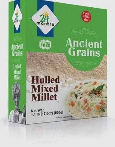 24 Mantra Mixed Millet 18 OZ (500 Grams)