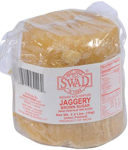 Swad Jaggery Brown Sugar 2.2 LBs