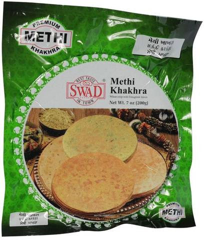 Swad Methi Khakhra 7 OZ (200 Grams)