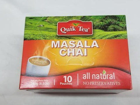 Quik Tea Masala Chai 8 OZ (241 Grams)