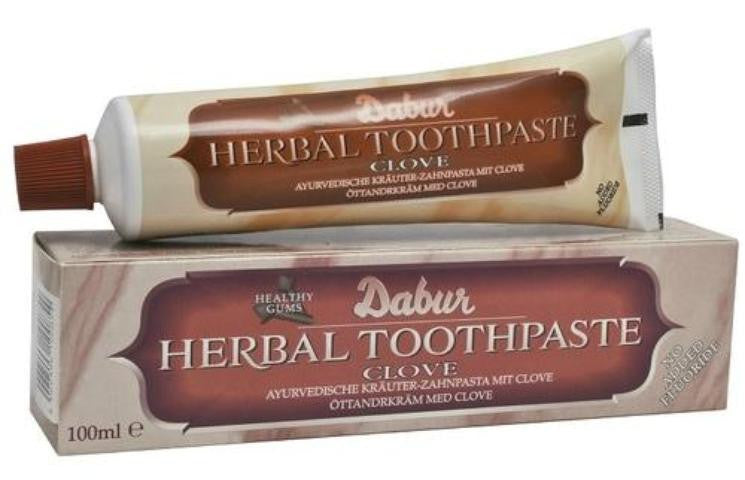 Dabur Herbal Toothpaste Clove 3.38 FL OZ (100 ML)