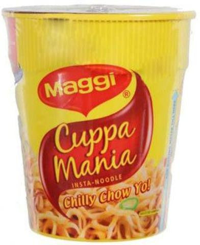Maggi Cuppa Mania Insta-Noodle Chilly Chow Yo! 2.45 OZ (70 Grams)