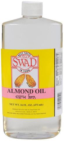 Swad Almond Oil 16 FL OZ (473 ML)