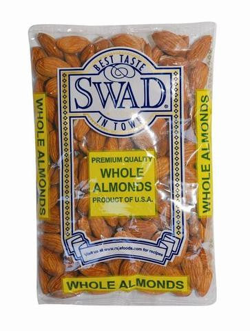 Swad Whole Almonds 14 OZ (397 Grams)