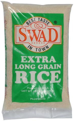 Swad Extra Long Grain Rice 20 LBs